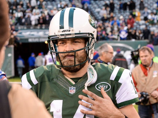 QB Ryan Fitzpatrick found a home in the NFL after leaving