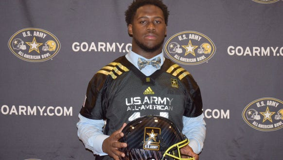 Antwuan Jackson, who committed to Auburn's 2016 recruiting