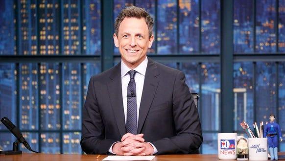 'Late Night' host Seth Meyers