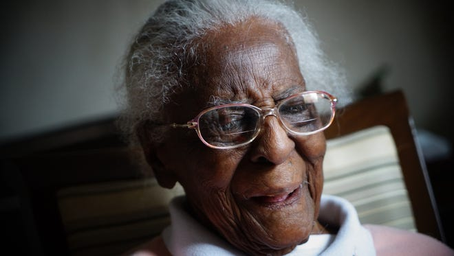 Born in Red Lion, De., 104 year-old Laura Middleton, a resident at the Regency  Health and Rehabilitation Center, talks about growing up in the era before women were allowed to vote.