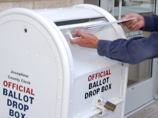 Josephine County ballot drop