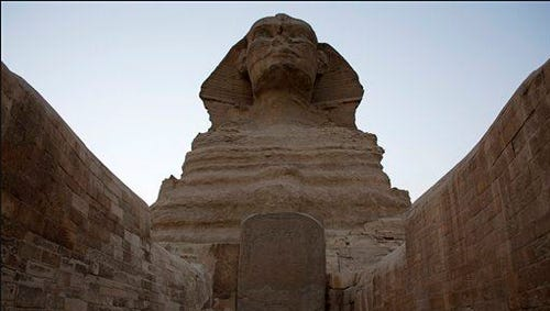 The Great Sphinx is seen in Giza, near Cairo, Egypt, Sunday, Nov. 9, 2014.