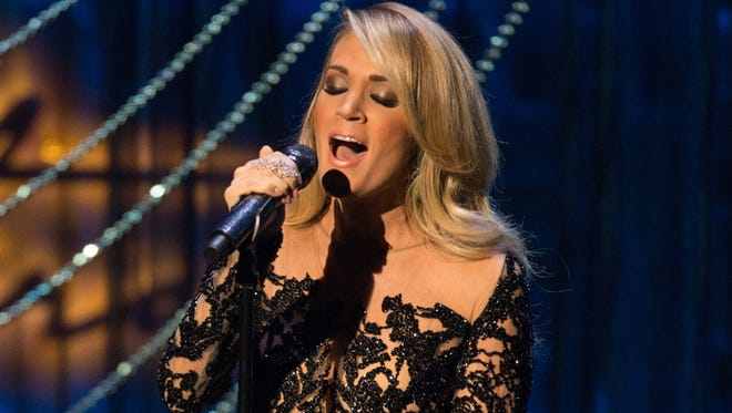 Carrie Underwood will perform at the Palace on Tuesday.