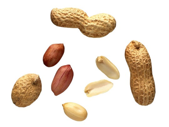 It's easy to overdo it with nuts because they are a concentrated source of calories.