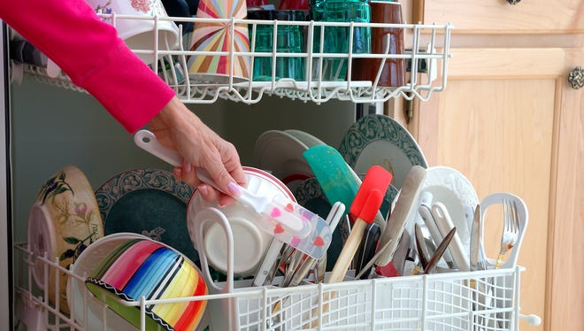 Only running the dishwasher when it is full is a great way to be a little more 'green' at home.