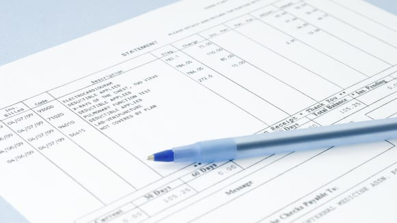 Read the explanation of benefits from your insurer and the bill from your doctor to make sure the bookkeeping is correct.