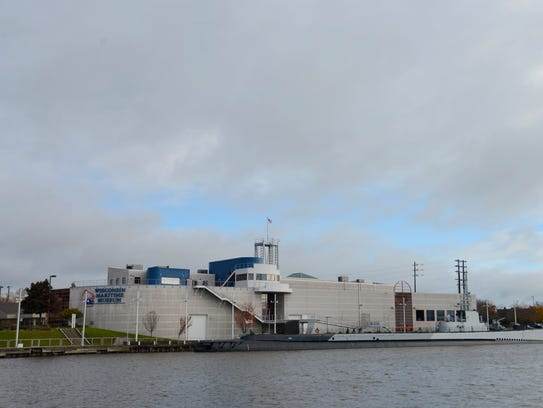 The Wisconsin Maritime Museum and the lakefront of