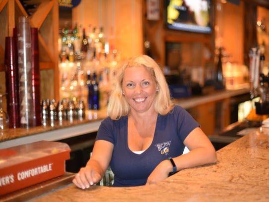 Michele Smith has been tending bar at Big Fish in Rehoboth