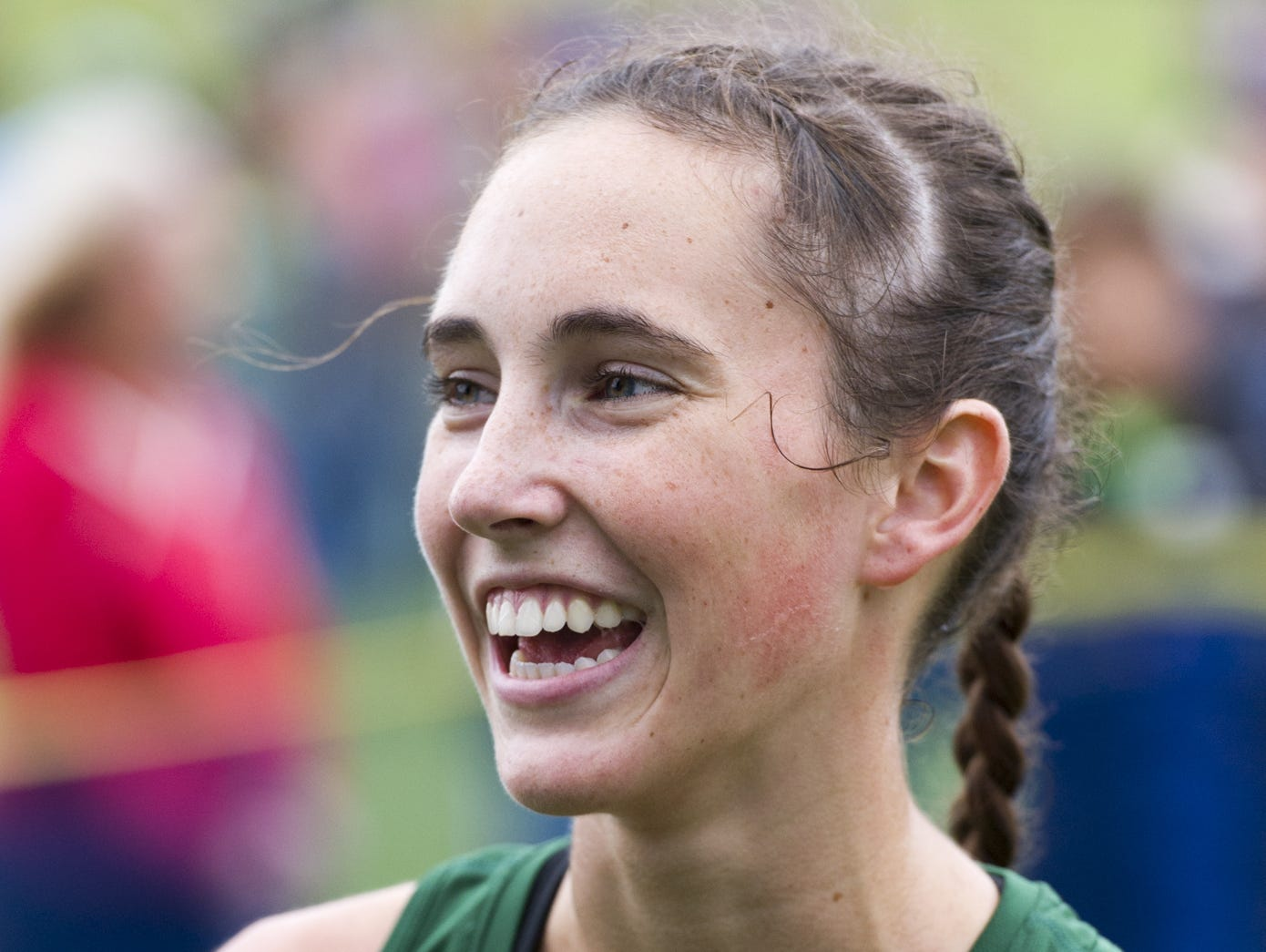 Pendleton Heights cross country runner Alex Buck is the September Marsh Athlete of the Month