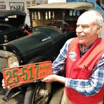 100-year-old license plate saved from recycling