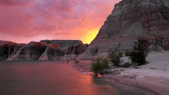 In 1972, Congress established the Glen Canyon National