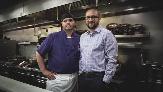New Jay's Bistro owners Rhys Edmunds (left) and Colin Randall have both worked at the iconic Fort Collins restaurant for more than a decade.