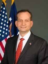 Secretary of Labor R. Alexander Acosta