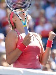 2013-09-06 day 12 us open racquet raise