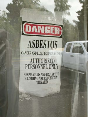 Two companies were fined for asbestos violations during a commercial remodel in Albany.