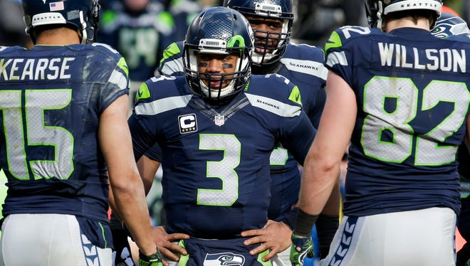 The Seahawks have never missed the playoffs with QB Russell Wilson.