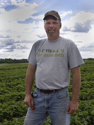 John Svihel of Svihel Vegetable Farm Inc. is shown in a file photo from 2013.