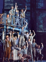 """A scene from the national tour of Broadway's """"Newsies."""""""