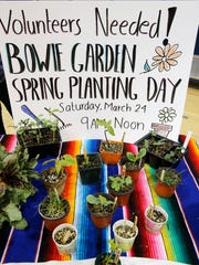 Bowie High School's Culinary Arts Program is looking for volunteers to help with the school's garden. The produce grown in the garden will be used by the students on their food truck. Several businesses and organizations were honored Friday at a luncheon in the school's gymnasium as a way of saying thank you for the money donated to the school for the purchase of the food truck.