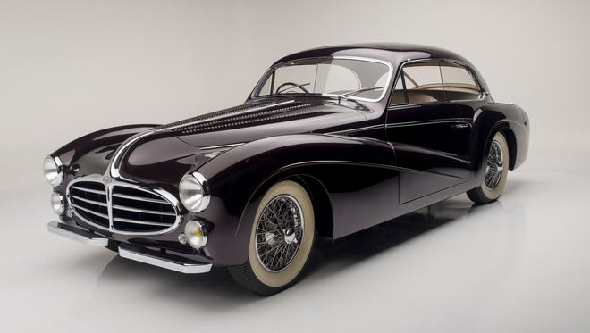 On the auction block at this year's Barrett-Jackson Collector Car Auction is the 1953 Delahaye 235 Saoutchik. The consignor spent 10 years trying to persuade the previous owner to sell the car, and it has been shown twice on the fairway at Pebble Beach and displayed in a major car museum.