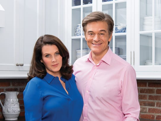 Lisa Oz and Dr. Mehmet Oz recently released a new cookbook