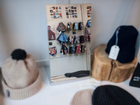 Skida Headwear and Accessories' showroom in Burlington