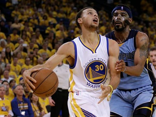 Stephen Curry, Mike Conley