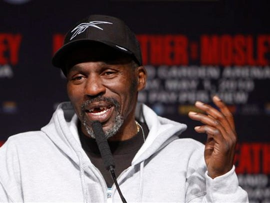 At the time of his defeat by Rocky Lockridge, Roger Mayweather, shown, was one of boxing's early 1980s stars at 17-0.