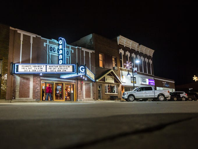 The Grand Theater in Knoxville Wednesday, Dec. 16,