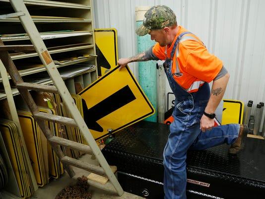 LAF County road sign vandalism raises concerns