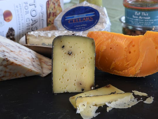 At any given time, Wedge on Wheels will feature 45 to 50 cheese, 20 meats and items like crackers, olives and condiments.