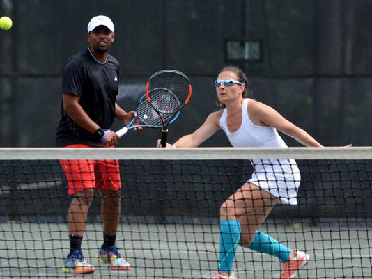Mixed Doubles Charity Tournament championship
