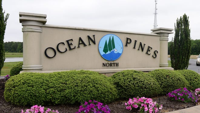 The north gate entrance to Ocean Pines