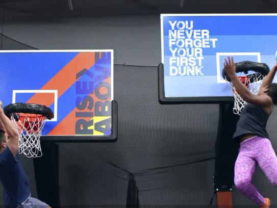 You can dunk as you've never dunked before, getting
