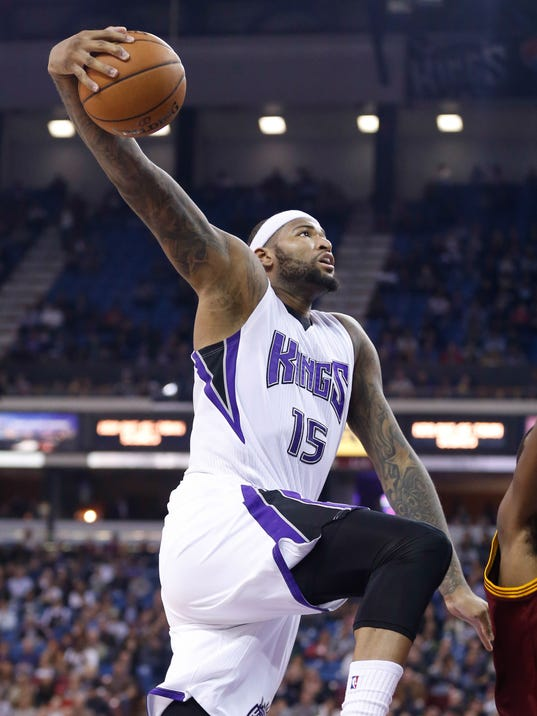 DeMarcus Cousins helps Kings rout Cavs without LeBron James