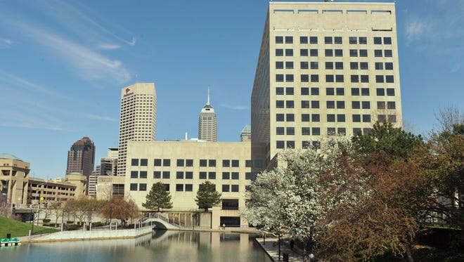 Indianapolis, pictured here from the Downtown Canal, is one of the top 20 metropolitan areas in the U.S. for tech job growth in the past few years, according to a report from the Brookings Institute.