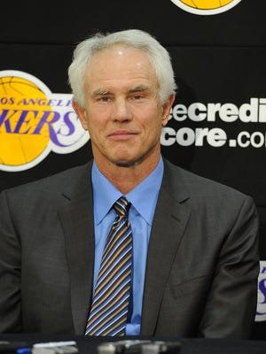 Lakers general manager Mitch Kupchak, shown in 2012, has been with the team since 1986 in various capacities.
