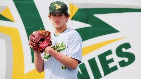 Hunter Macomber is a sophomore for the Christ School baseball team.