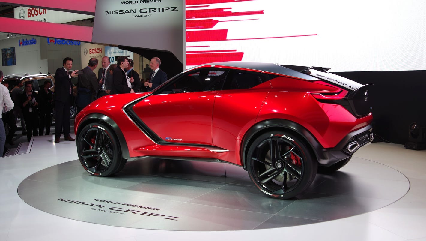 Nissan Gripz Crossover Concept Is For Rally And Road