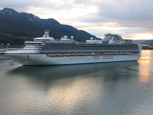 "The 115,875-ton, 2,670-passenger Sapphire Princess and its identical twin, the Diamond Princess, are the fourth and fifth members of Princess Cruises' wildly successful nine ship ""Grand Class"" platform."