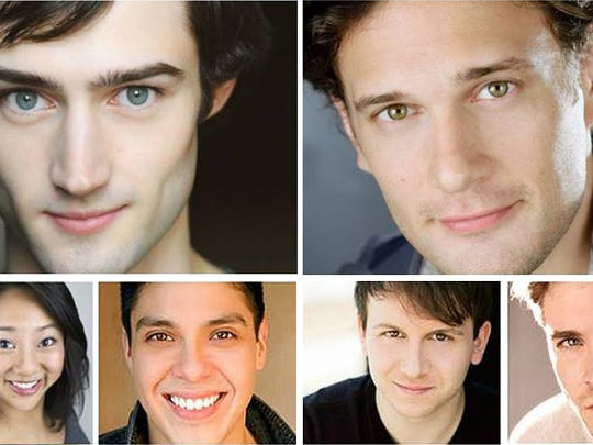 Clockwise from top left: Young Broadway veterans Will