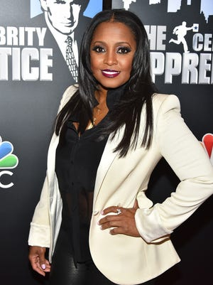 Keshia Knight Pulliam attends the 'Celebrity Apprentice' Red Carpet Event at Trump Tower on January 5, 2015 in New York City.