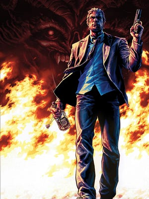 """""""Sons of Anarchy"""" creator Kurt Sutter's new project is the comic book """"Lucas Stand,"""" about a time-traveling supernatural hitman."""