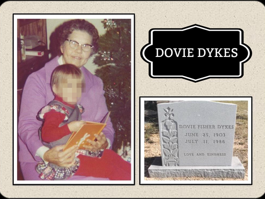 An arrest has been made in the 32-year-old murder of Dovie Dykes, 83.