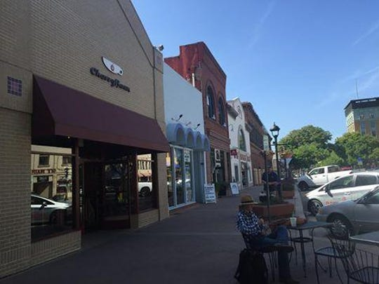 Downtown merchants such as Cherry Bean look forward to outdoor dining.