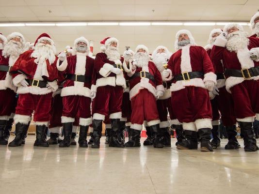 Santa On A Firetruck: RAINE Foundation's Bayshore