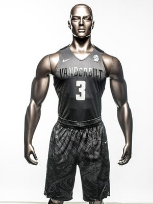 Nike created special uniforms for Vanderbilt basketball for equality weekend during Black History Month.