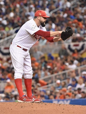 Pat Neshek was traded to the Rockies for three minor leaguers.