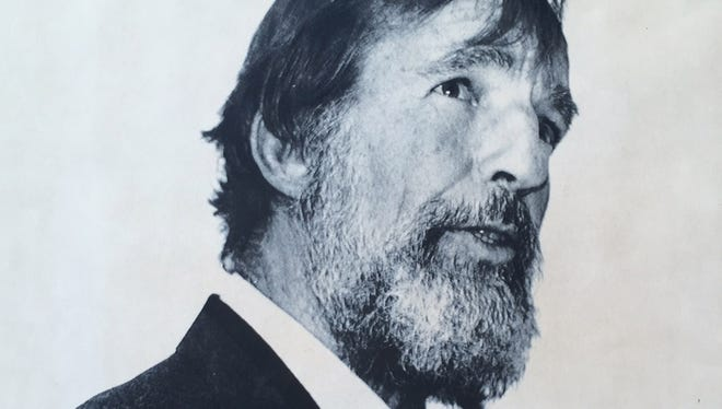 Famed writer and environmentalist Edward Abbey seen in this 1984 photo.