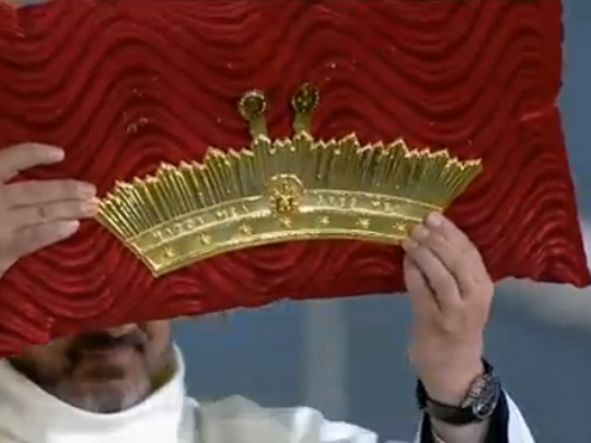 Image of the crown that will be placed atop the image